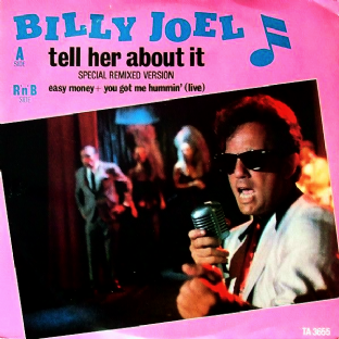 "Billy Joel - Tell Her About It (12"") (EX/VG)"
